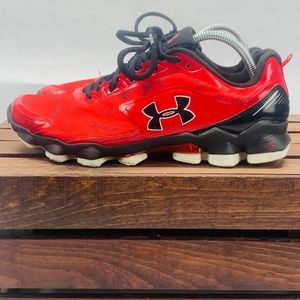 Under Armour Micro G Nitrous  Rnning Shoe 10 Red
